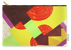 Carry-all Pouch featuring the painting Pyramids And Pepperoni by Thomas Blood