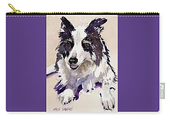Carry-all Pouch featuring the painting Jack by Kris Parins