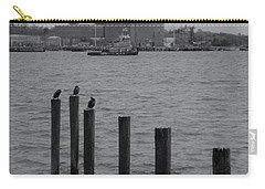 Carry-all Pouch featuring the photograph Q. River by John Scates