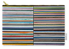Quad Stripes Carry-all Pouch by Stan  Magnan
