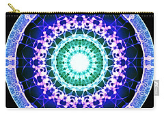 Carry-all Pouch featuring the digital art Quadlife by Derek Gedney
