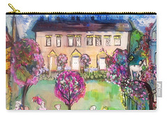 Quaint Picnic On The Lawn  Carry-all Pouch