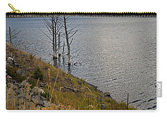 Quake Lake Carry-all Pouch by Cindy Murphy - NightVisions