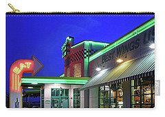 Carry-all Pouch featuring the photograph Quaker Steak And Lube by Christopher McKenzie