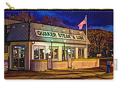 Quaker Steak And Lube Carry-all Pouch by Skip Tribby