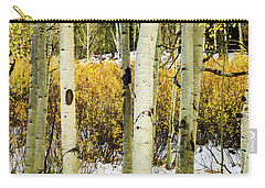 Quakies And Willows In Autumn Carry-all Pouch