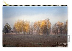 Quaking Aspen Trees At Dawn, Grand Teton National Park, Wyoming Carry-all Pouch