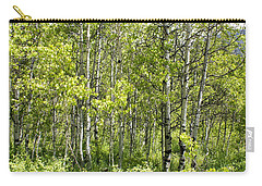 Quaking Aspens 2 Carry-all Pouch by Cynthia Powell