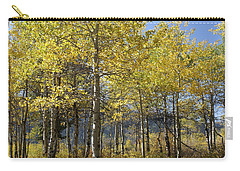 Quaking Aspens Carry-all Pouch by Cynthia Powell