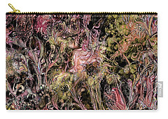 Carry-all Pouch featuring the digital art Qualia's Garden Autumn by Russell Kightley