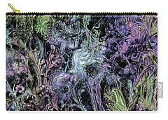 Carry-all Pouch featuring the digital art Qualia's Graden Winter by Russell Kightley