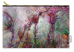 Carry-all Pouch featuring the digital art Qualias Meadow by Russell Kightley