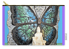 Quan Yin Butterfly Carry-all Pouch