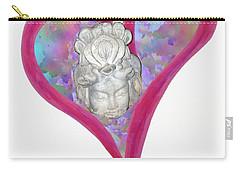 Quan Yin Heart Carry-all Pouch
