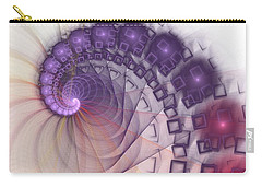 Carry-all Pouch featuring the digital art Quantum Gravity by Anastasiya Malakhova