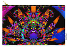 Carry-all Pouch featuring the digital art Quantum Physics by Robert Orinski