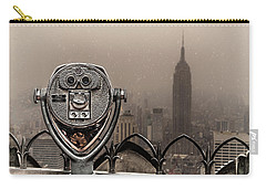 Carry-all Pouch featuring the photograph Quarters Only by Chris Lord
