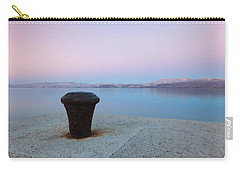 Carry-all Pouch featuring the photograph Quay In Dawn by Davor Zerjav