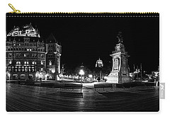 Quebec City Boardwalk At Night Carry-all Pouch