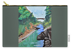 Quechee Gorge,vermont Carry-all Pouch