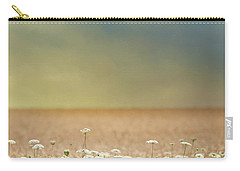 Carry-all Pouch featuring the photograph Queen Anne And Wheat by Rebecca Cozart