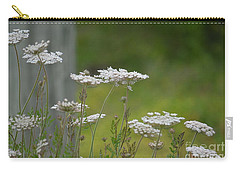 Queen Anne Lace Wildflowers Carry-all Pouch