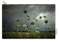 Queen Anne's Lace 3 Carry-all Pouch by Cynthia Lassiter