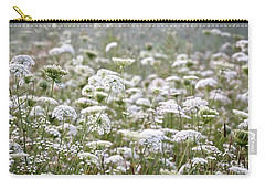 Queen Anne's Lace Hazy Summer Carry-all Pouch