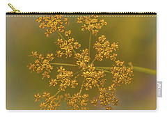 Queen Ann's Lace Gold Carry-all Pouch