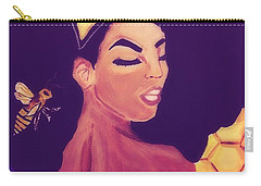 Queen Bee  Carry-all Pouch by Miriam Moran