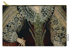 Queen Elizabeth I Carry-all Pouch by John the Younger Bettes