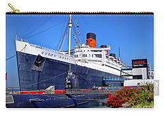 Queen Mary Ship Carry-all Pouch by Mariola Bitner