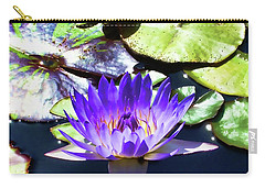 Queen On The Lake Carry-all Pouch by Mariola Bitner