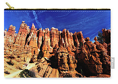 Carry-all Pouch featuring the photograph Queens Garden by Norman Hall