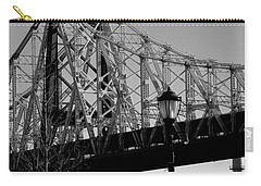 Carry-all Pouch featuring the photograph Queensboro Bridge  by John Harding