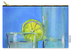 Carry-all Pouch featuring the painting Quench by Nancy Merkle