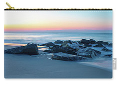 Quiet Beach Haven Morning Carry-all Pouch