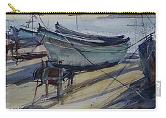 Quiet Evening In Pomorie Carry-all Pouch by Sandra Strohschein