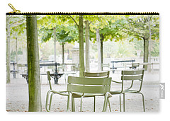 Quiet Moment At Jardin Luxembourg Carry-all Pouch