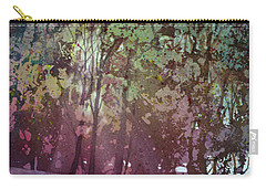 Carry-all Pouch featuring the painting Quiet River by Kris Parins