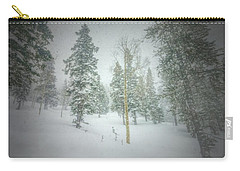 Carry-all Pouch featuring the photograph Quiet Turns  by Mark Ross