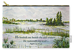 Quiet Waters Psalm 23 Carry-all Pouch