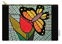 Quilted Duo Carry-all Pouch by Jim Harris