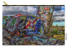 Quincy Quarries Graffiti Carry-all Pouch