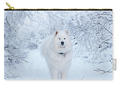 Quinn The Mighty Samoyed Carry-all Pouch