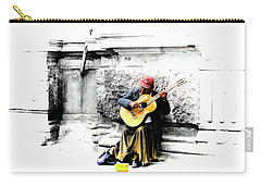 Quito Street Musician II Carry-all Pouch