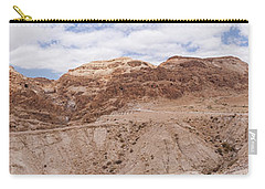 Carry-all Pouch featuring the photograph Qumran National Park by Yoel Koskas