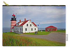 Quoddy Head Lighthouse Carry-all Pouch
