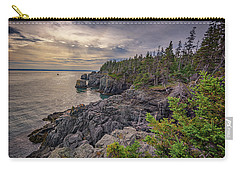 Carry-all Pouch featuring the photograph Quoddy Head State Park by Rick Berk
