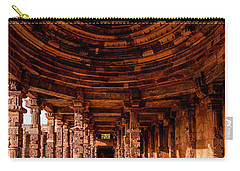 Qutub Minar Carry-all Pouch by M G Whittingham